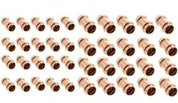 40 Units 1-1/2 And 2 Propress Copper Slip Couplings - No-stop Press Fittings