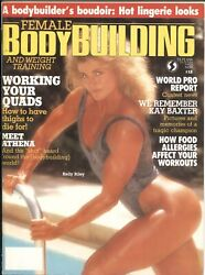 Female Bodybuilding 12--11/1988-kelly Riley Cover And Centerfold-kay Baxter T...