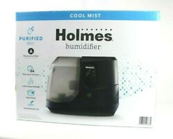 Holmes Sunbeam Black Cool Mist Humidifier Small Room Aromatherapy 1 Gal Hcm1100