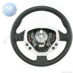 Oem Ferrari 612 Scaglietti Punched Smooth Leather Steering Wheel With Controls