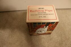 Avon bulldog pipe decanter Wild country After Shave in original box