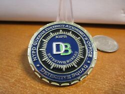 Nypd Detectives Queens District Attorneys Office Challenge Coin 800f
