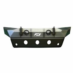 Hammer Series Front Bumper W/ Fog Mounts And Skid Plate For Jeep Jl / Jt Gladiat