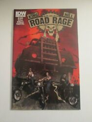 Road Rage Idw Issue 1 And Variant Nm Joe Hill Stephen King Comic Series