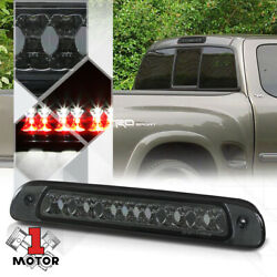Smoke Tinted Led Third[3rd]brake Light Cargo Functioned For 00-06 Toyota Tundra