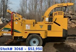 (5) Vermeer BC1500XL Wood Chippers For Sale (#3222)