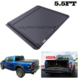 Tonneau Cover 5.5ft Hard Truck Bed Retractable 66and039and039 For Ford F-150 2010-2020
