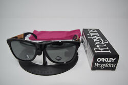 Brand New Oakley Frogskin Mix Polished Blk with Prizm Black Iridium OO9428 0255 $86.50