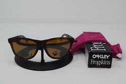 Brand New Oakley Frogskin Mix Matte Brown Tortoise w Tungsten Polar OO9428 0855 $101.50