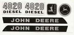 Decal Set 4020 Industrial Yellow Wide Front John Deere Toy Pedal Tractor Jp117