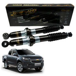 Fits Chevrolet Colorado 15 16 18 Front Overland Gas Oil Lift 2 Struts Shock Up