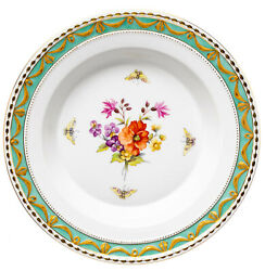 Soup Bowl Flowers And Insects Decor 73 Kpm Berlin Kurland 1. Choice 9 13/16in