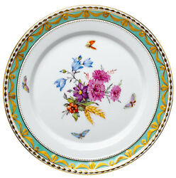 Appetizer Plate Flowers And Insects Decor 73 Kpm Berlin Kurland 1. Choice