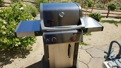Weber S-210- Ng 2 Burner Bbq Grill  New Local Pick Up Only  Natural Gas