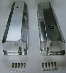 Ford Fe Tall Fabricated Aluminum Valve Covers With Hole 352 390 427 428 Bbf