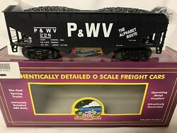 ✅mth Premier Pittsburgh And West Virginia 2 Bay Offset Coal Hopper Car 20-97661