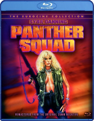 NEW Panther Squad Blu ray Eurocine Space Soldier Amazonian Sybil Danning Action