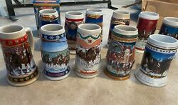 Anheuser-Busch Beer Steins- Holiday collection