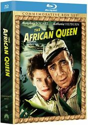 The African Queen Coffret Blu-ray + Cd Collector Edition Import Us Commemorative