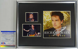 Signed Richard Marx Autographed Cd Display Certified Authentic Psa Ag61494