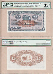 Rare Key Date 5.1.1948 £5 Provincial Bank Of Ireland Limited. Pmg Ch Vf35 Epq