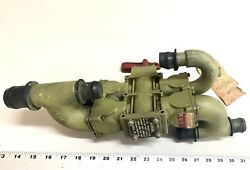 Vintage Aviation Valve Assy 74346 With Tag 1950andrsquos Usaf Navy