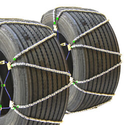 Titan Diagonal Cable Tire Chains Snow/ice Covered Roads 17.64mm 445/50-22.5