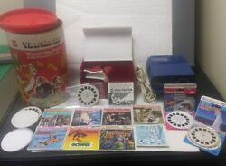 1976 Vintage Gaf Viewmaster Theatre In The Round Projector-walt Disney