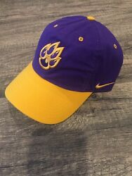 Lsu Tigers Nike Hat Cap One Size Champions Embroidered Logo Spell Out