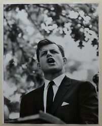 Vytas Valaitis -ted Kennedy First Senate Campaign 1962 -tirage Barytandeacute Dand039andeacutepoque 2