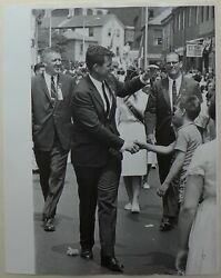 Vytas Valaitis -ted Kennedy First Senate Campaign 1962 -tirage Barytandeacute Dand039andeacutepoque 4