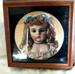 Mildred Seeley Framed Doll Plate 3rd Limed French Dolls Ii Bruand039s And039bebe Faithand039