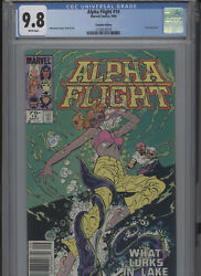 Alpha Flight 14 Mt 9.8 Cgc Canadian Edition John Byrne Cover Art And Story