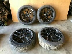 Jeep Grand Cherokee Srt8 2005-2010 Oem Giovanne 20 Front Rear Staggered Wheels