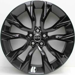 4x Genuine 22 Range Rover Sports Supercharged Rims New Continental Tyres Disco