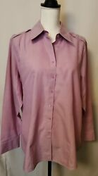 Nwot Coldwater Creek Tunic 1x Mauve Plus Size Perfect For Spring And Summer