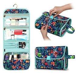Travel Cosmetic Makeup Bag Toiletry Hanging Organizer Storage Case Pouch Women $16.29