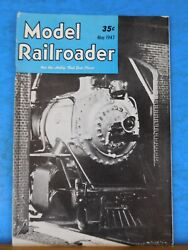 Model Railroader Magazine 1947 May Red Lights And Green Boomer Pete Jeep Diesel