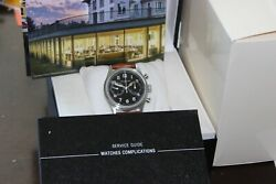 Lbn Ref1858 Pilot Watch42mm Diaautosschronographin/out Boxpapers