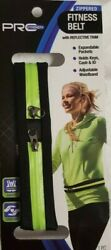 Pro Strength Zippered Fitness Belt with Reflective Trim - New $8.00