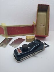 Vintage New Home Buttonholer Sewing Machine Attachment 4 Cams And Machine Part