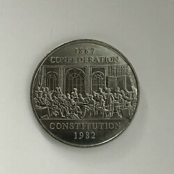 1982 1867-1982 Canada Constitution Dollarl@@khigh Gradecombined Shipping