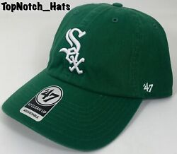 Chicago White Sox 47 Brand New Adjustable Classic Green Hat Cap MLB Brand New !! $24.99