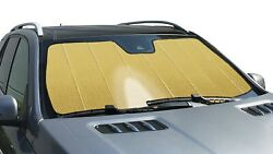 Ultimate Reflector Gold Custom Sun Shade For Windshield-volkswagen