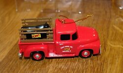Kent Feeds Pickup Truck Diecast Holiday Ornament First Gear 2016 Muscatine Iowa