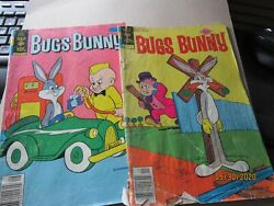 Bugs Bunny Gold Key Comic Books 190 1977 And 199 1978