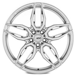 21 Adv1 Adv005 Silver 21x10.5 21x10.5 Forged Concave Wheels Rims Fits Audi Rs7