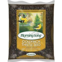 Morning Song 3 Lb. Nyjer Seed Wild Goldfinch Food 14 Pk