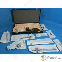 Welch Allyn Sigmoidoscope W/ Accessories. Includes 1 Light Handle 1 Power T