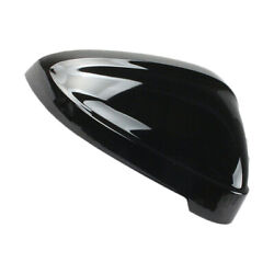Wing Black Right Door Rearview Mirror Cover Cap Fit For Audi A4 S4 B9 A5 S5 Rs4
